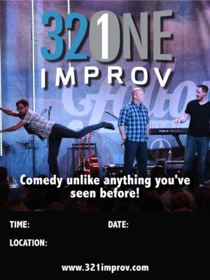 321 Improv Poster #1 11X14