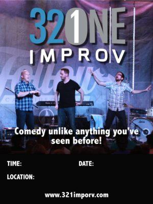 321 Improv Poster #3  11X14